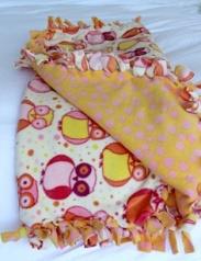 Fleece-Tied Blanket